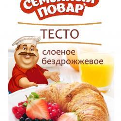"""""""Семейный повар"""" Тесто слоеное бездрожжевое"""